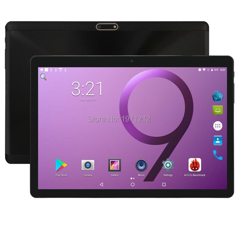 2019 Nouveau 2.5D Verre 10 pouce 3g 4g tablet Octa core 1280x800 IPS HD 5.0MP 4 gb RAM 32 gb ROM Android 8.0 GPS comprimés 10.1 Cadeaux