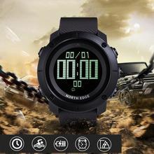 цена Rondaful North Edge Men's Sport Smart Digital Watch Electronic Clock Waterproof Outdoor Fishing Stopwatch Hour Smartwatch онлайн в 2017 году