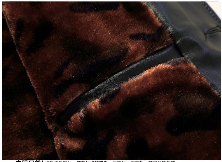 Survêtement 4xl Chaud Âge Hommes Manteau Revers Taille Papa Épais 3630 À Pu Moyen Plus Brun Col Pour Noir Veste Hiver Chaude Casual Polaire CWanxqwBO
