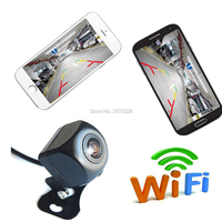 Newest Car Rear View Camera Automobile WiFi Wireless Reverse HD 150 Degree Night Vision Backup Camera For Iphone IOS Android