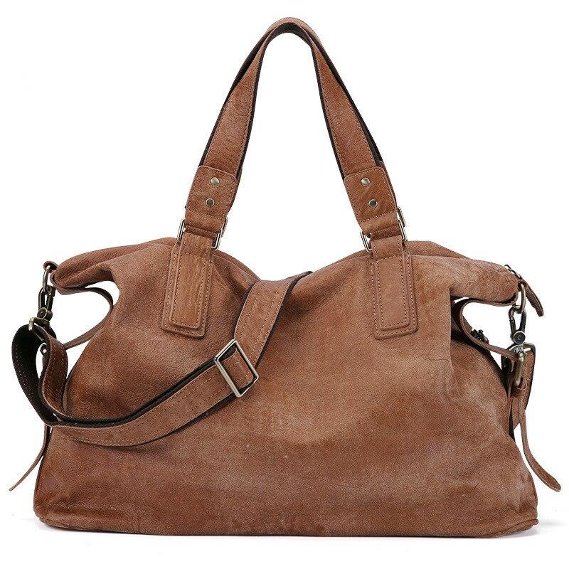 2019 Mode Rindsleder Echtes Leder Männer Tasche Casual Schulter Taschen Business Herren Aktentasche Handtaschen Messenger Tasche