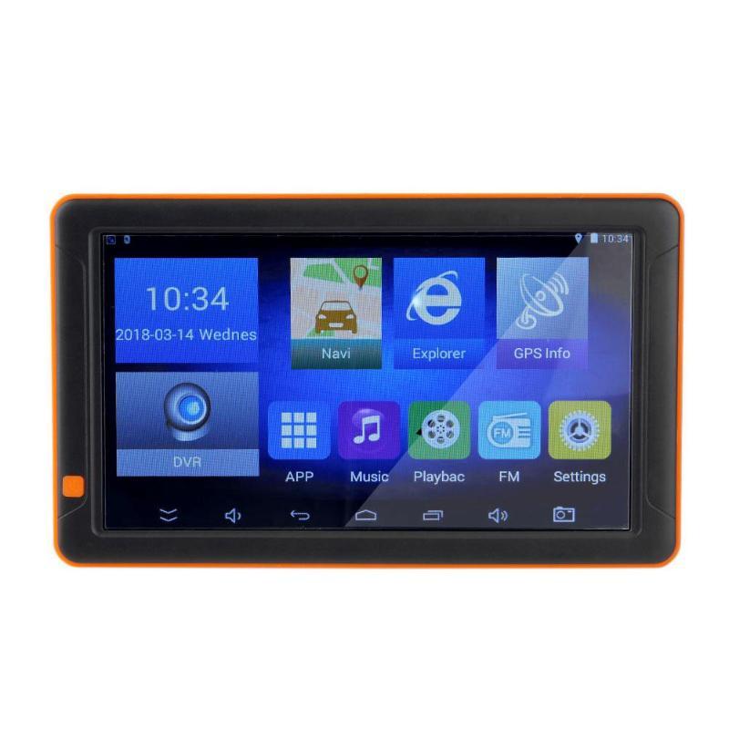 9 zoll Android Auto GPS Navigation SAT NAV UNS EU Karte 16G Lkw Nachtsicht GPS Set mit DVR kamera AVIN