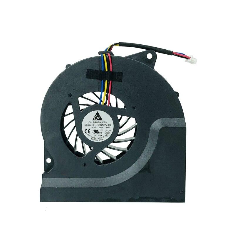 New cpu fan for Asus N53 N53J N53JF N53JN N53S N53SV N53SM N73J N73JN KSB06105HB