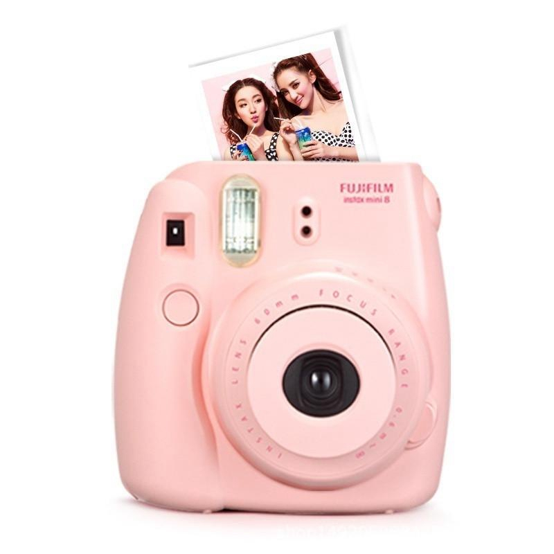 Newest Camera/video Bags Protective Case Case For Polaroid Mini 8 1pcs Casual Classic Noctilucent Pink