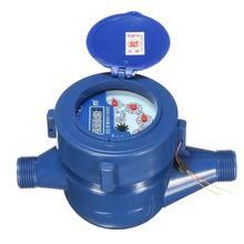 1 шт. 15 мм пластиковый однопотоковый сухой холодной воды Настольный садовый домашний счетчик для измерения воды Минимальное считывание 0,0001 широкий диапазон измерений