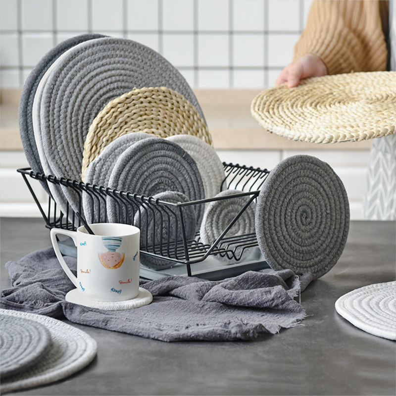 Tablecloths Cheap Sale Hot Lace White Embroidery Placemat Table Place Mat Cloth Doily Cup Dish Coaster Mug Christmas Dining Pad Tea Coffee Kitchen Delicious In Taste Home & Garden