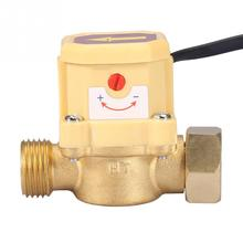 220V G1/2-G1/2 Flow Control Switch Thread Water Pump Adjustable Flow Sensor Pressure Automatic Control Switch 220v g1 2 g1 2 flow control switch thread water pump adjustable flow sensor pressure automatic control switch
