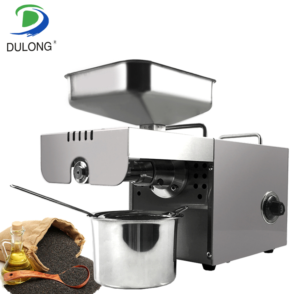 Stainless Steel Peanut Coconut Oil Expeller Machine Small Oil Press Machine Cooking Oil Making Machine Avocado Oil Extractor