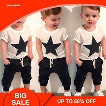 2 шт футболка со звездами и штаны шаровары