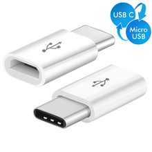 Type C Otg Adapter micro usb Naar Type-c Lader Kabel voor Samsung Galaxy S8 S9 Plus A8 2018 Otg type c Opladen micro usb Adapter(China)