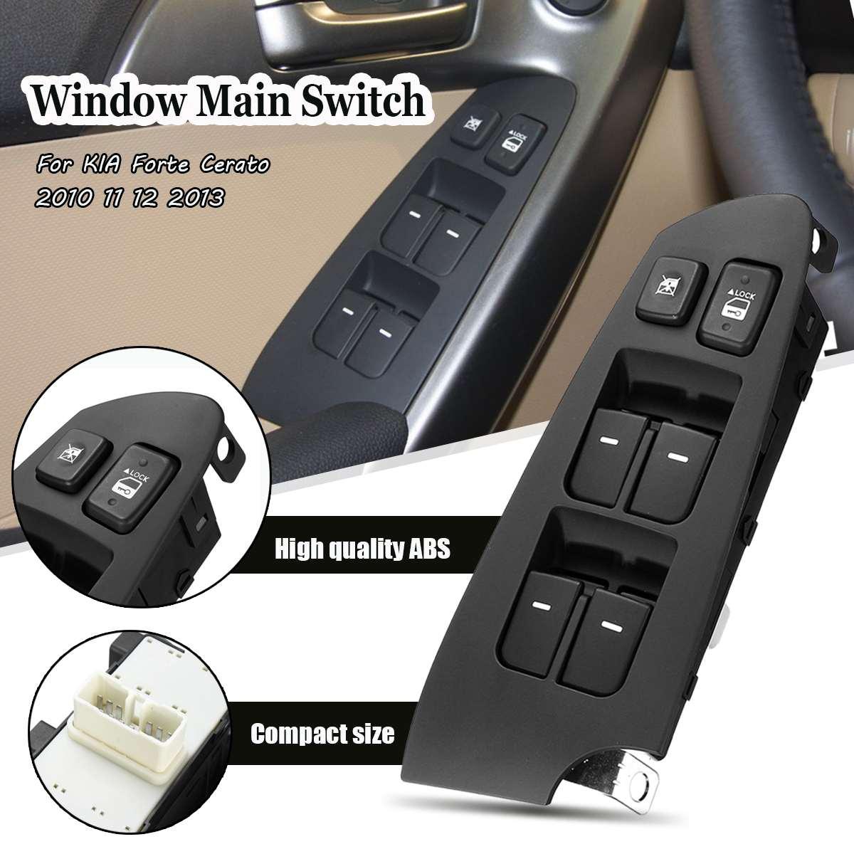 OEM Genuine Window Switch Left Side Main switch for kia Forte 2009-2013 sedan