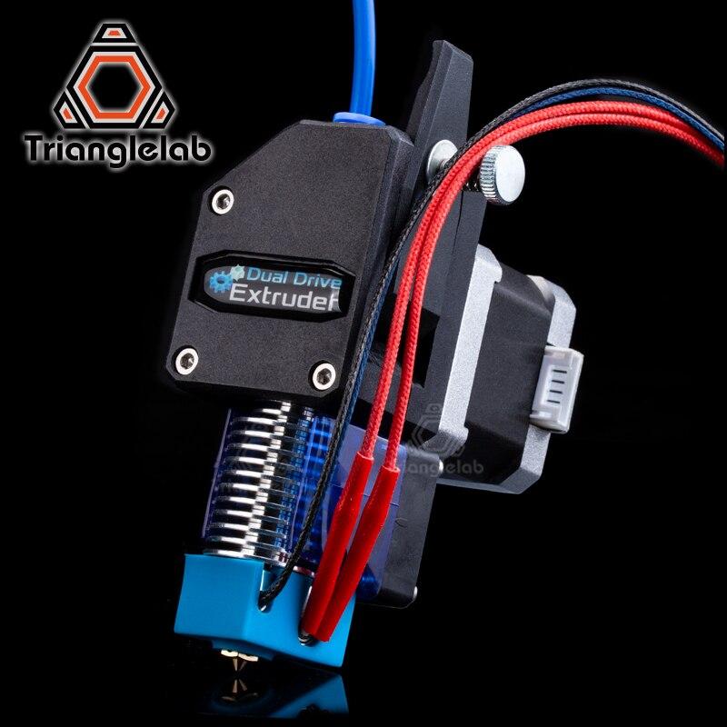 Trianglelab MK8 Bowden extrusora BMG extrusora + V6 salida HOTEND Dual extrusora para 3d impresora de alto rendimiento para I3 3D impresora