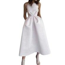 Женские вечерние платья белого цвета, плиссированные платья без рукавов на бретельках, модные вечерние элегантные платья, туники
