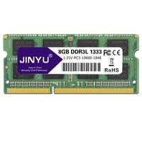 JINYU Ddr3 Low Voltage 8G 1.35V 204Pin Ram Memory For Laptop
