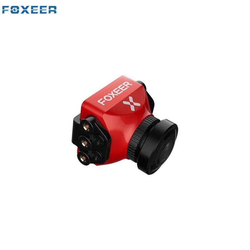 Mis à jour Foxeer Falkor Mini/Pleine Taille 1200TVL 1/3 CMOS FPV Caméra 16:9/4:3 1.8mm/2.5mm PAL/NTSC Commutable GWDR VTX Noir Rouge