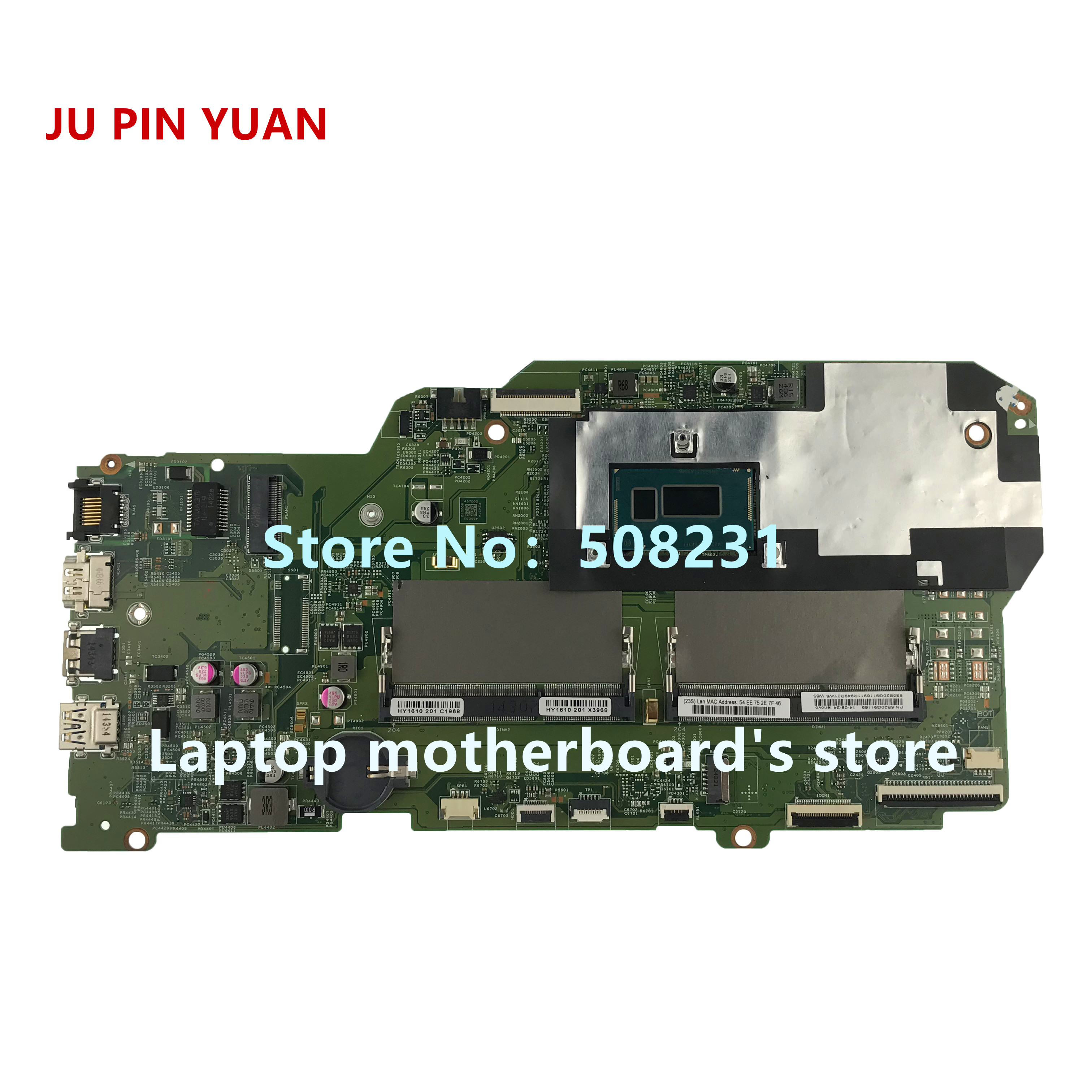 Ju Pin Yuan 448.03g01.0011 5b20q91169 Mainboard For Lenovo Flex 2 Pro Edge 15 Laptop Motherboard With I5-4210u Cpu Fully Tested Computer & Office Laptop Accessories