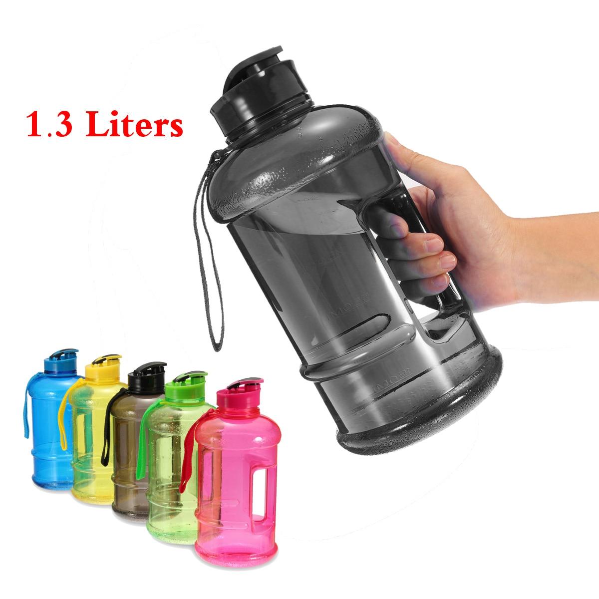 Botella de agua deportiva de gran capacidad L hervidor de agua portátil de plástico para ciclismo al aire libre