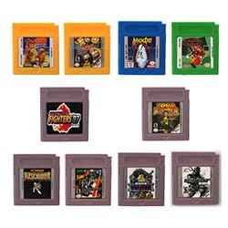 16 bits Console de poche jeu vidéo cartouche carte métal Gear solide langue anglaise Version