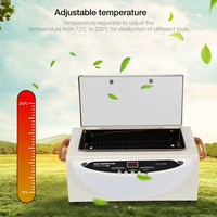 Upgraded Smart High Temperature Sterilizer for Towel Nail Art Dental Tools Sterilization US Plug