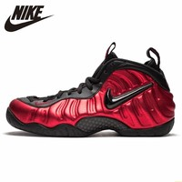 Nike Air Foamposite Pro universty Red Men Basketball Shoes New Arrival Air Cushion Shock Absorption Sneakers#624041 604
