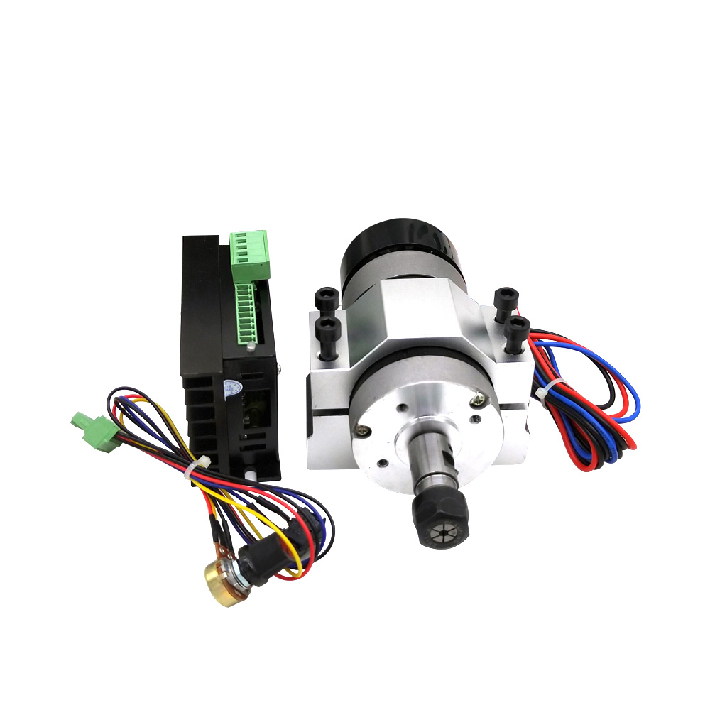 400W ER11 Chuck CNC Brushless Spindle Motor With Driver Speed Controller DIY Engraving Machine Accessories Set