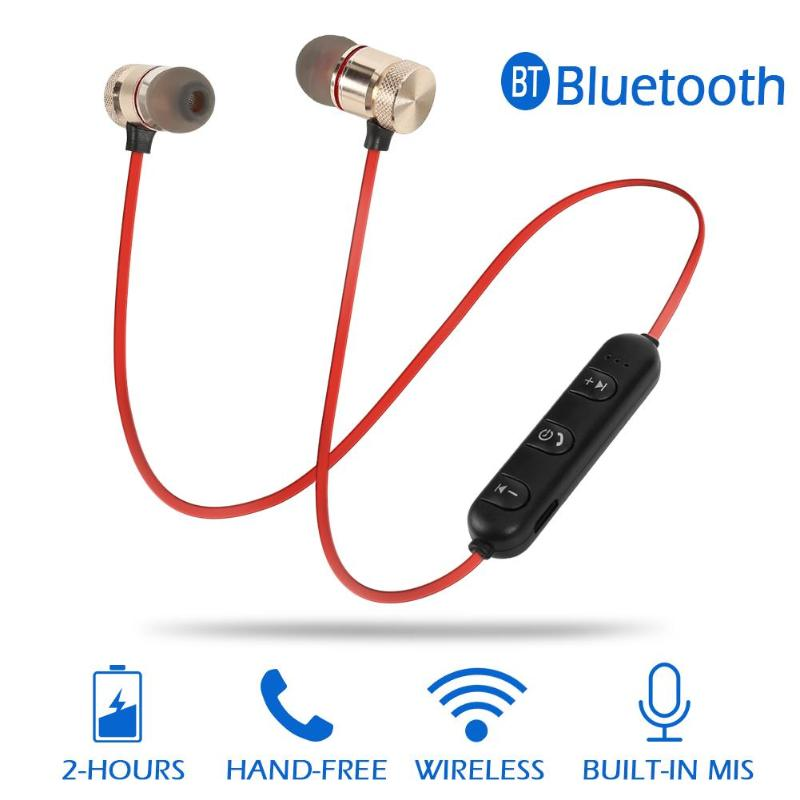 M5 Magnetic Attraction Wireless Bluetooth Earphones Handsfree Stereo Headset Earbuds with Mic for iOS Android