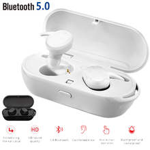 T2C TWS Wireless Mini Bluetooth Earphone For Xiaomi Huawei Mobile Stereo Earbud Sport Ear Phone With Mic Portable Charging Box azexi new style true wireless bluetooth earphone mini twins in ear stereo tws with charging box for samsung apple huawei xiaomi