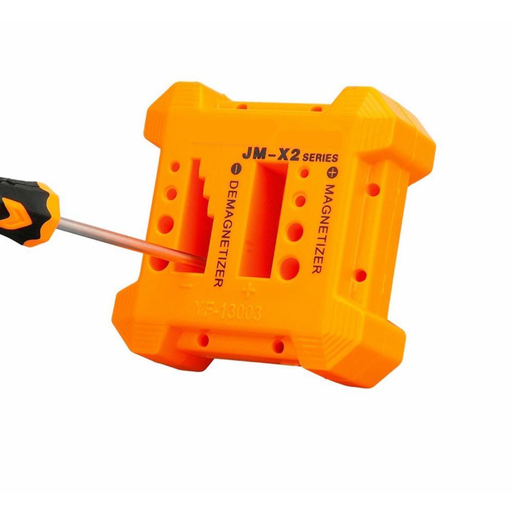 Adeeing JM-X2 Magnetizer Demagnetizer Tool Screwdriver Magnetic Pick Up Hand Tools Screwdrivers Magnet Reducer
