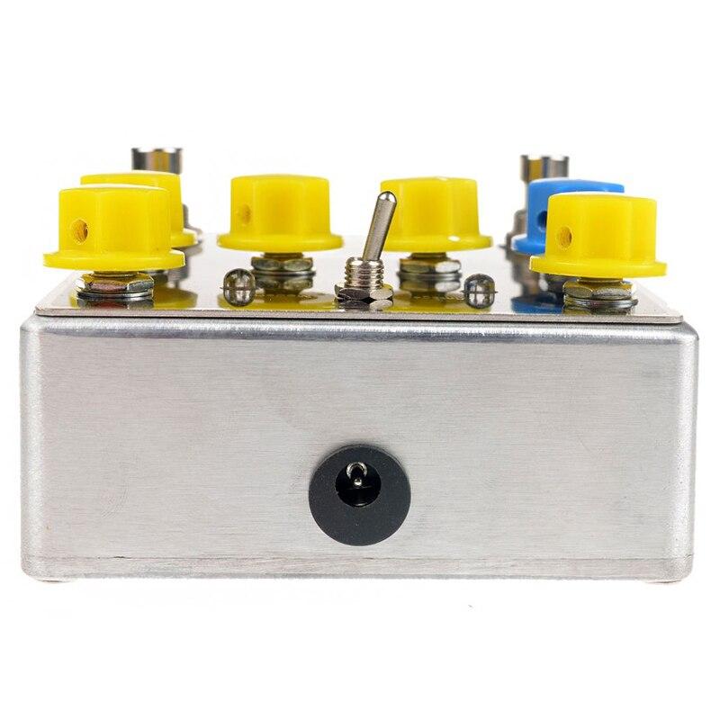 Mosky TW distorsion guitare effet pédale de haute qualité avec condensateurs/résistances/IC trois bandes EQ effets - 3