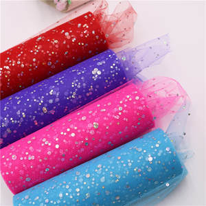 Tutu Roll Mesh Wedding-Chritmas-Decoration Christmas-Party-Supplies Sequin Glitter Tulle