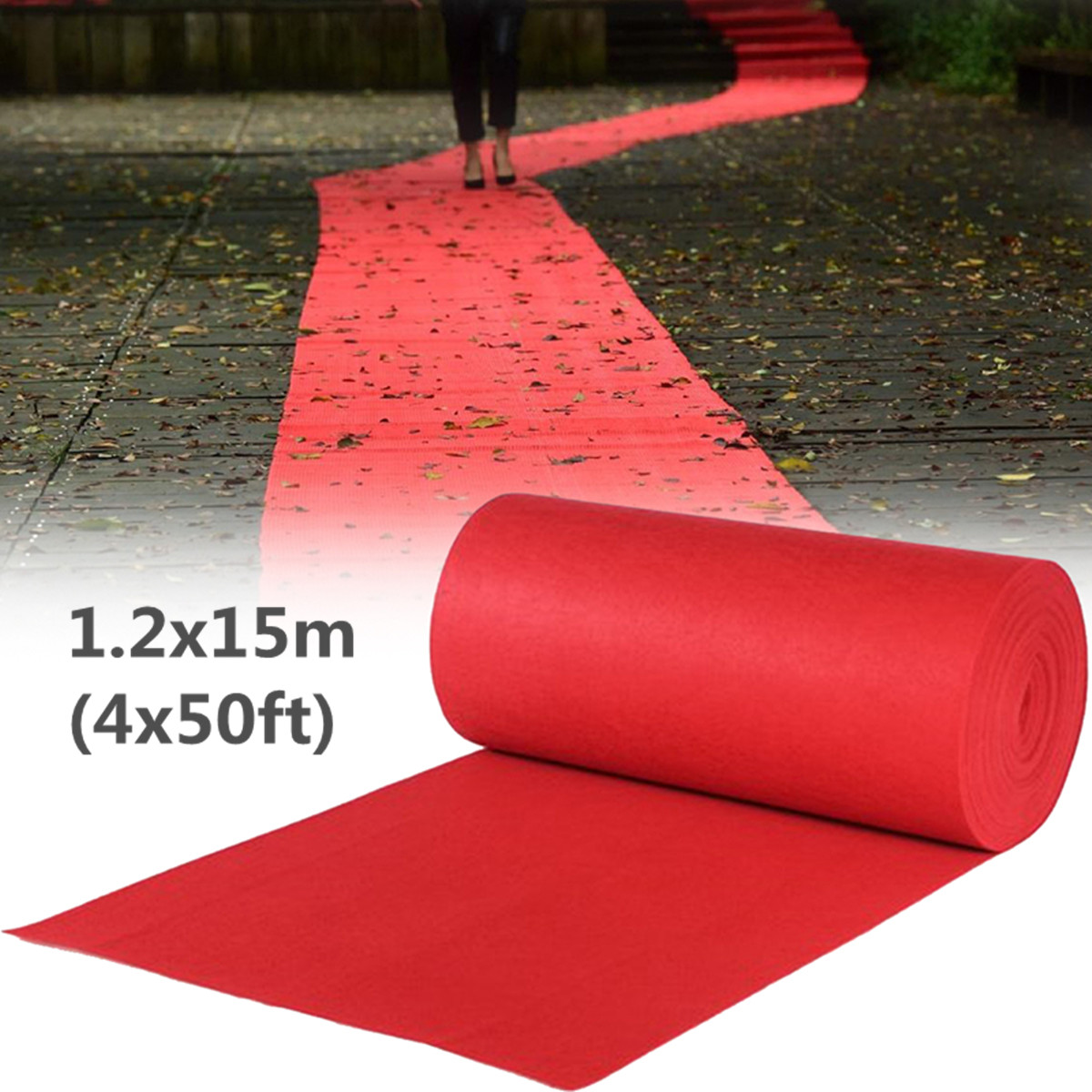 15X1.2M Wedding Aisle Floor Runner Carpet Polyester Large Carpet Rug Hollywood Awards Events Party Wedding Events Decoration15X1.2M Wedding Aisle Floor Runner Carpet Polyester Large Carpet Rug Hollywood Awards Events Party Wedding Events Decoration