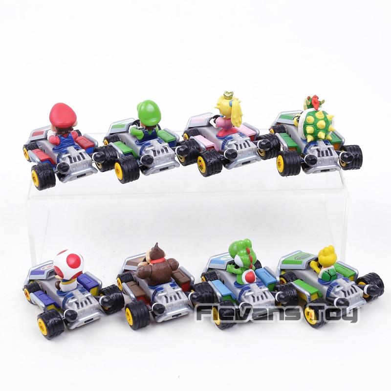 Super Tira La Kong Bowser Mario Kart Coche Koopa Donkey Luigi 6yvgYb7f