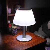 Waterproof 10 LED Stainless Steel Solar Table Lamp Eye Protection Desk Lamp Solar Power Table Lamps Indoor Outdoor Garden Light