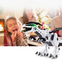 Electric Spray Dinosaur Robot Model Toy with Light Children Education Fantastic design mist spray function. Toys
