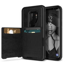 Luxury High Quality Leather Flip Case For Samsung Galaxy S9 Plus Case 360 Wallet Cover For Samsung S9 Hard Cases StandCard Slot