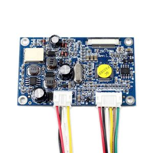 Image 4 - สำหรับ 7 นิ้วหน้าจอ LCD อินพุต CVBS CONTROLLER BOARD สำหรับ 26Pin อินเทอร์เฟซ TTL หน้าจอ LCD HSD070I651 AT070TN07 480x234 ความละเอียด