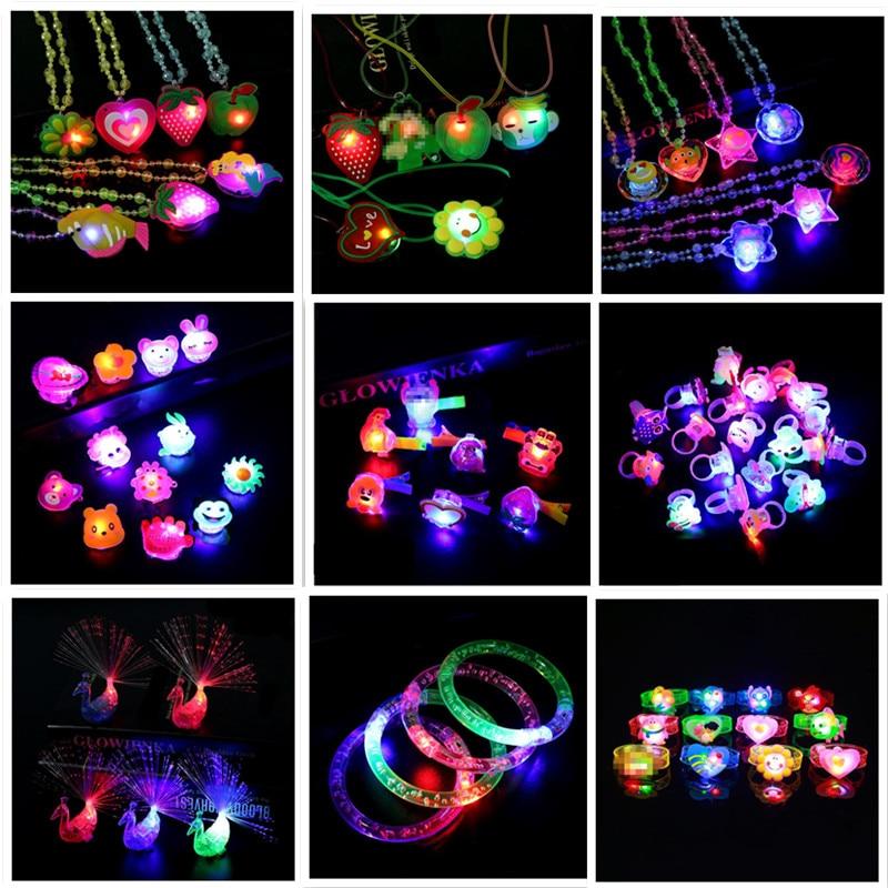 Led Christmas Light Necklace