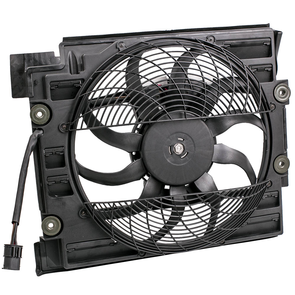 Brand New Radiator <font><b>Cooling</b></font> <font><b>Fan</b></font> <font><b>Motor</b></font> for <font><b>BMW</b></font> 5 Series E39 Prevent Engine From Overheating image
