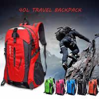 40L Arrampicata All'aperto Zaino Impermeabile Borsa Sportiva Zaino Da Viaggio Zaini Campeggio Trekking Zaino Delle Donne Degli Uomini di Trekking Bag
