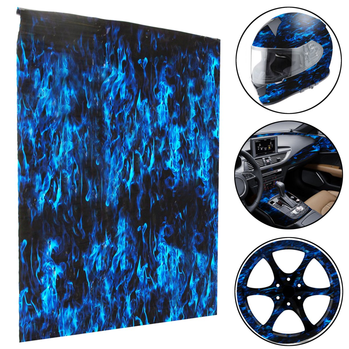 HYDROGRAPHIC WATER TRANSFER HYDRO DIP SINGLE CATALOG SHEET FILM BLUE EYE CREEPER