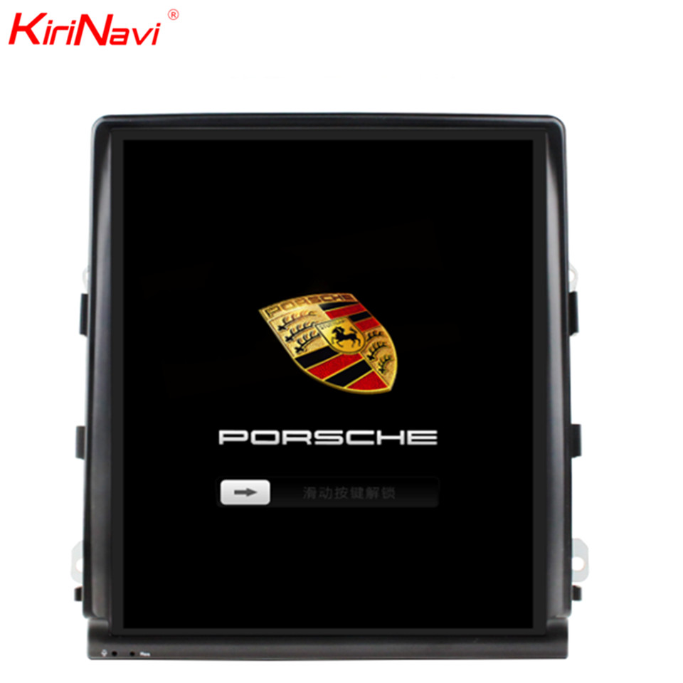 KiriNavi Vertical Screen Tesla Style 10.4 inch Android 7.1 Car Radio For Porsche Cayenne Android Car GPS Navigation Stereo 2011+