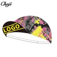 CHEJI Bandana Ciclismo Customized Unisex High Breathable Ourdoor Cycling Sport Caps Scarfs Mtb Road Bike Bicycle Bandanas Hats