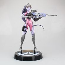 Children Gifts OW Figure Model Toys Game Collectibels Widowmaker Action Figure dowin ow about size 10cm action figure tracer game widow maker d va mei genji hanzo mccree soldier 76 bastion