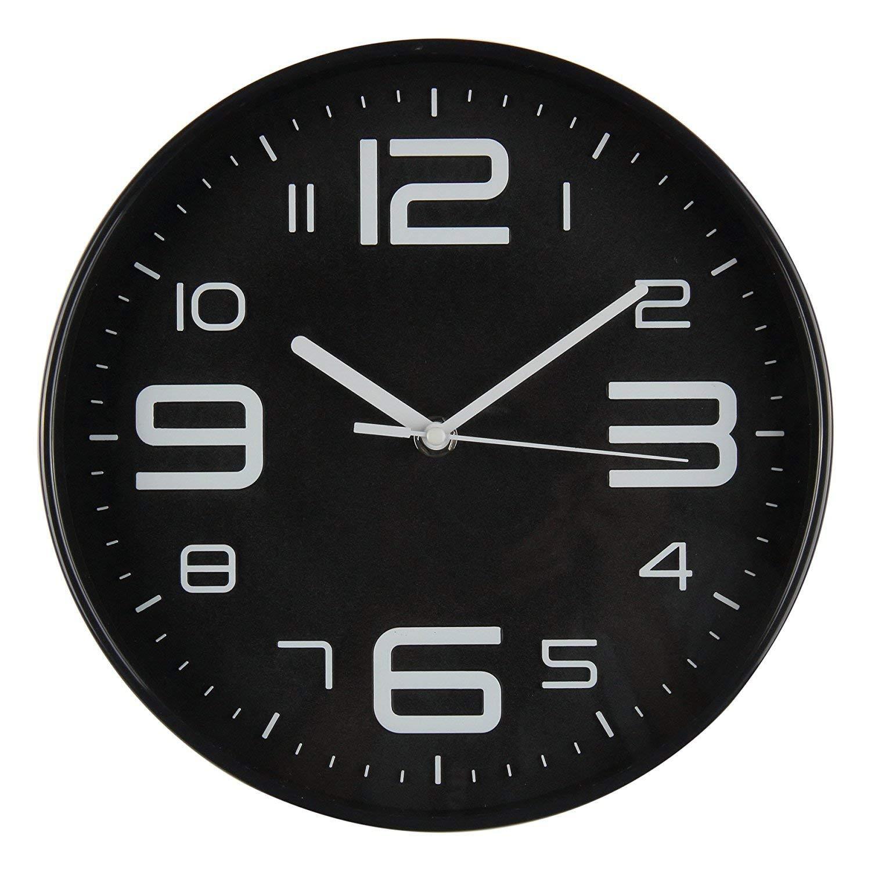 Impecca WCW-144K 14in Silent Wall Clock, Black - Walmart.com |Silent Wall Clock