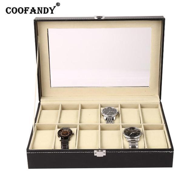 Home Holder Watch Box Shop Collection Organizer etc Storage Display Exhibition H