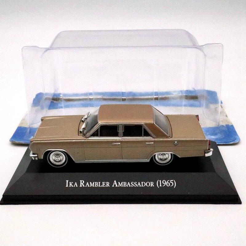IXO Altaya 1:43 IKA Rambler Ambassador 1965 Diecast Models Limited Edition Toys Car Collection