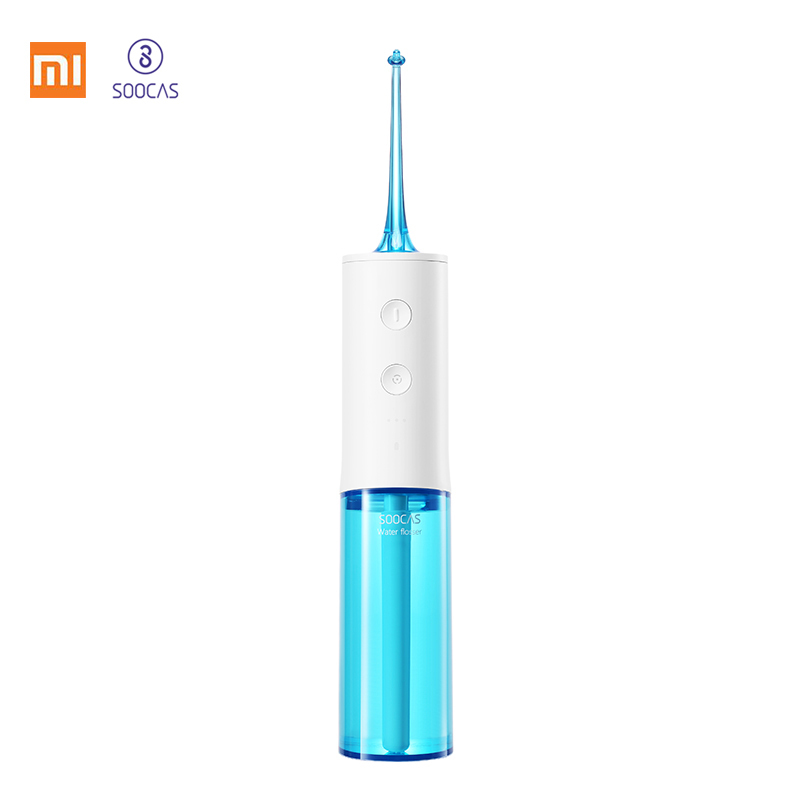 Xiaomi Soocas W3 Oral Irrigator Portable Water Dental Flosser Water Jet Cleaning Tooth Mouthpiece Denture Cleaner Teeth Brush|Oral Irrigators| |  -