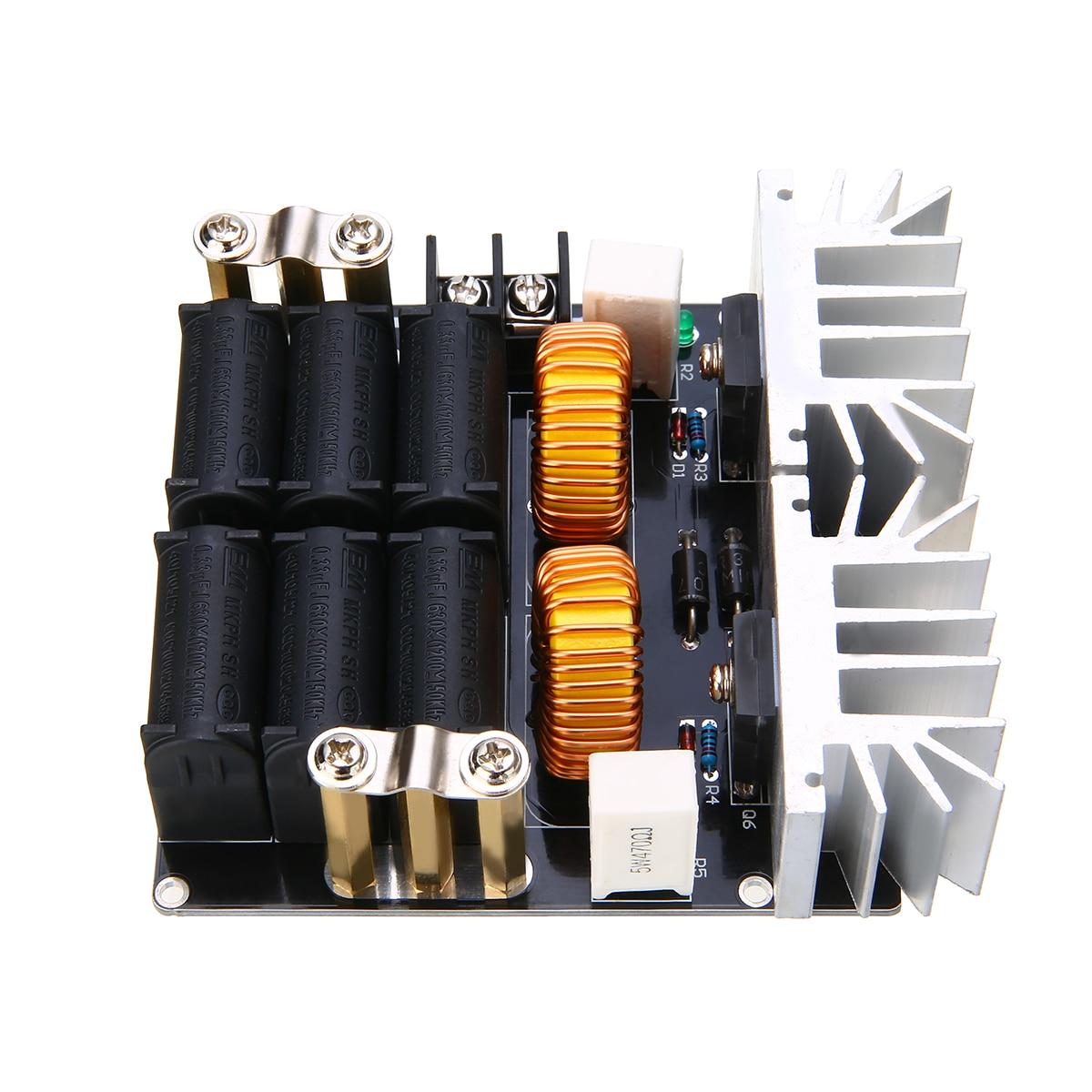 1 pièce/ensemble Durable ZVS 1000 W basse tension Induction Module de chauffage panneau bricolage chauffage avec bobine Tesla pour le traitement de chauffage - 3
