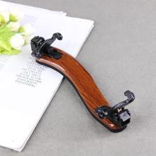 Nuevo soporte de hombro de violín profesional 4/4 tamaño completo ajustable de madera de arce violín hombro descanso violín piezas accesorios