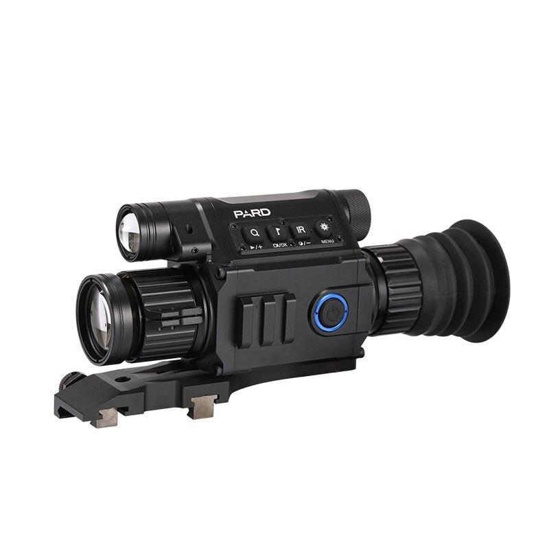 PARD NV008 Infravermelho Alcance de Visão Noturna Wifi APP 6.5-12X 5 w 850nm IR night Vision Riflescope NV Monocular ajustável Picatiny